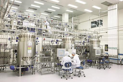 Ảnh nhà máy và dây truyền sản xuất của tập đoàn kwangdong