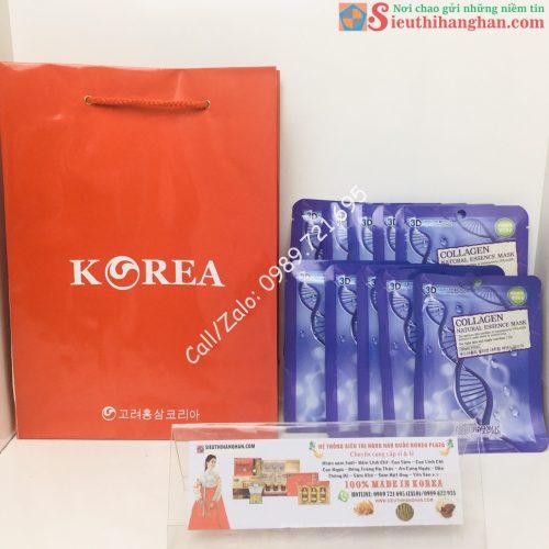 Mặt Trước Mặt Nạ Collagen Hàn Quốc