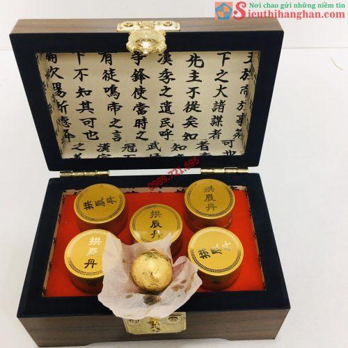 An Cung Ngưu Hoàng KANA Hàn Quốc Bọc Vàng 24K Hàm Lượng Cao Đặc Trị Tai Biến Đột Quỵ Hộp 5 viên8