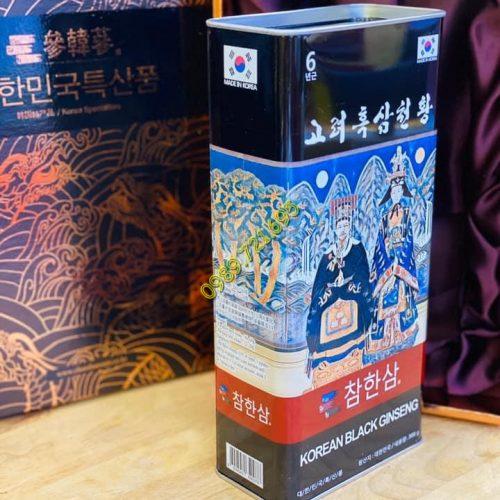 Sâm Cao Ly Hắc Sâm Củ Khô Korean Black Ginseng Chamhansam Siêu Thượng Hạng4