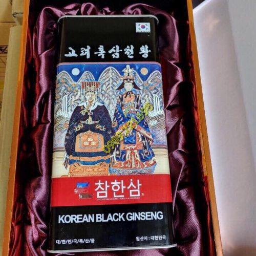 Sâm Cao Ly Hắc Sâm Củ Khô Korean Black Ginseng Chamhansam Siêu Thượng Hạng