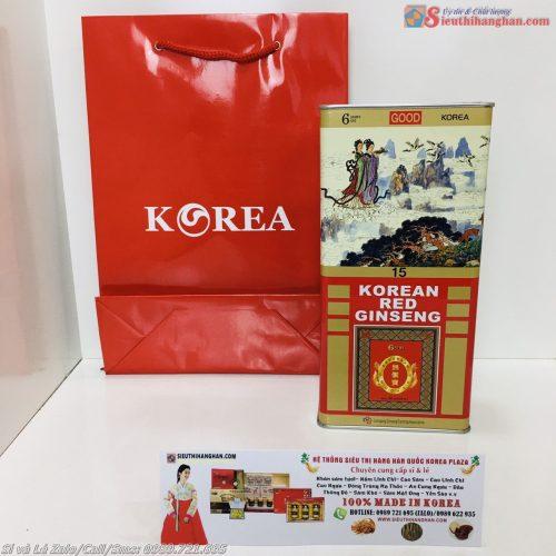 Sâm Cao Ly Hồng Sâm VIP Củ To Chữ Good 10 Củ Korea Red Ginseng Joongang Ginseng Farming Association14