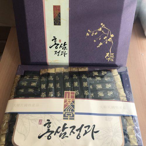 Hắc sâm nguyên củ tẩm mật ong Dongjin Korea 4 hàn quốc 900 gram