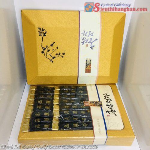 Hắc sâm nguyên củ tẩm mật ong Dongjin Korea thượng hạng hoàng cung dành cho giới thượng lưu