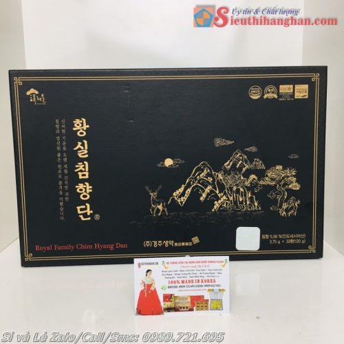 Royal Family Chim Hyang Dan Linh đơn Trầm hương hồng sâm nhung hưu đẳng cấp hoàng gia Hàn Quốc 12