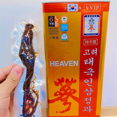 Thiên sâm tẩm mật ong Heaven VVIP Super Platinum gọi tắt là siêu siêu Vip - Siêu bạch kim